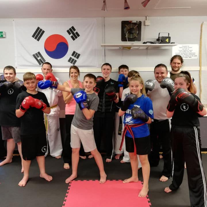 Kickboxing class in falkirk