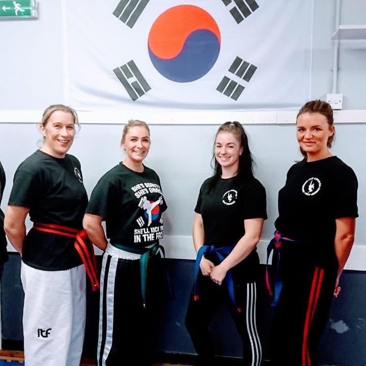 Ladies self defence class in Falkirk